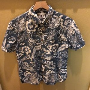 New Cactus man large slim fit button up